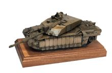 Challenger Battle Tank - Bronze Model